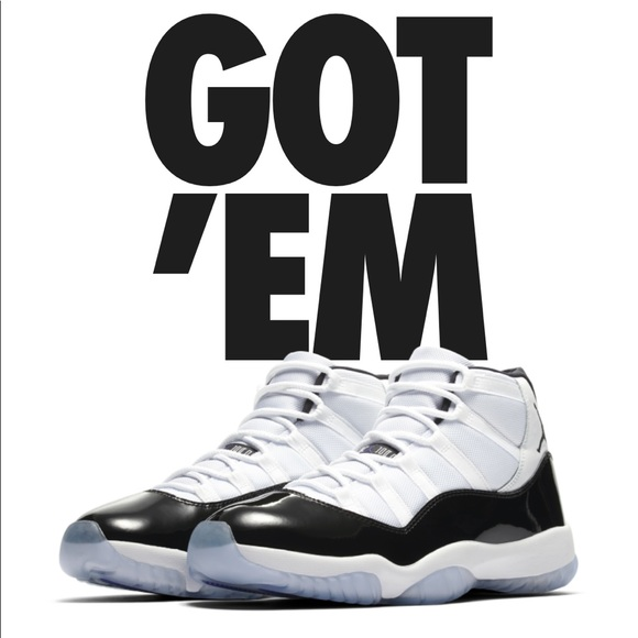 info for fd5a5 66909 2018 Jordan concord 11 size 12 NWT